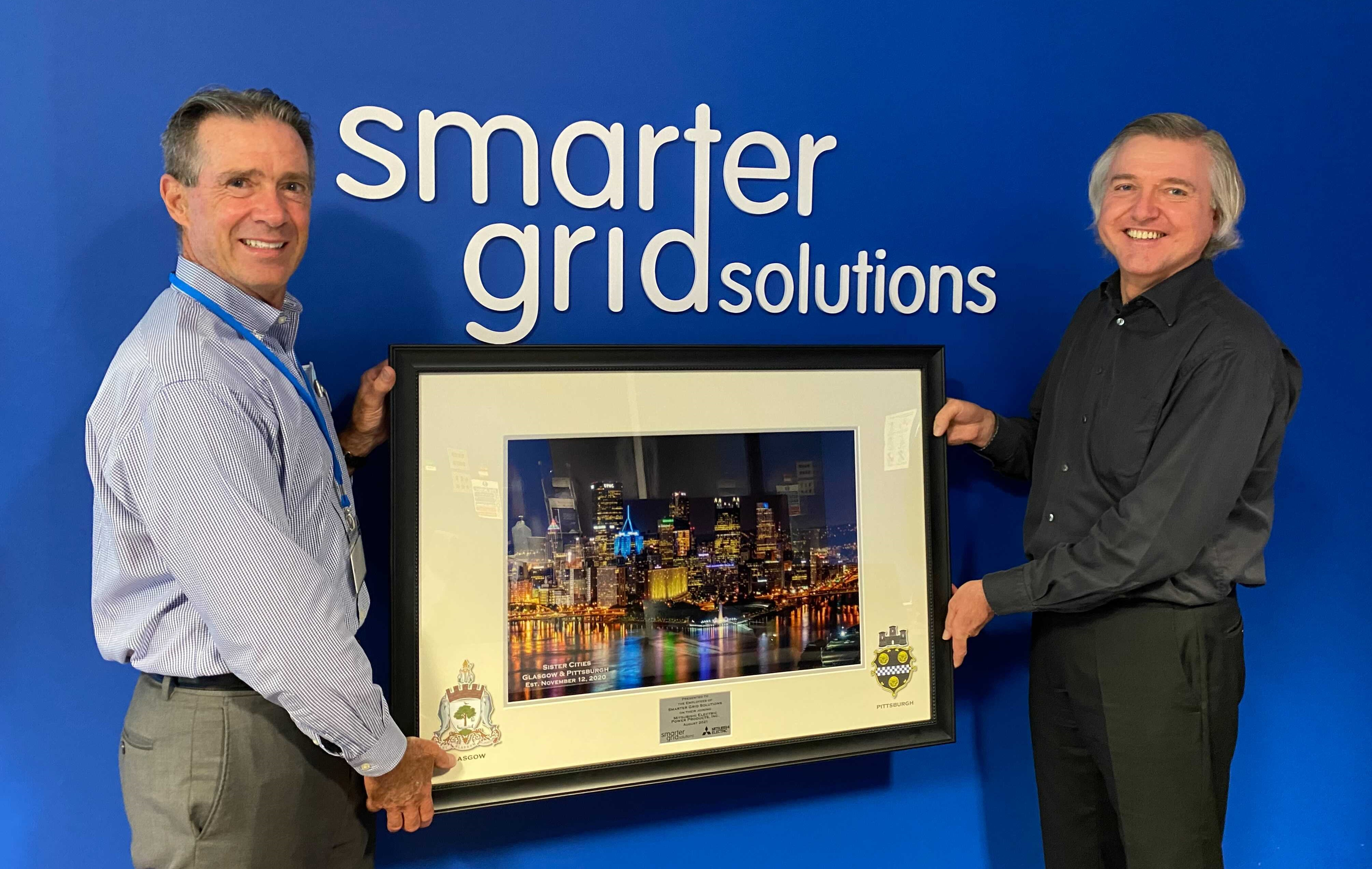 Brian Heery, MEPPI CEO and Brent Marshall, Smarter Grid Solutions CEO